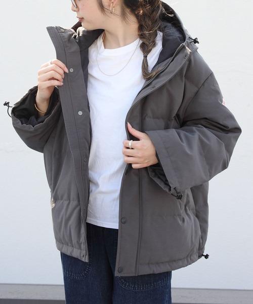 DANTON/ダントン ダウンフーデッドジャケット DOWN HOODED JKT(ウィメンズ)DT-A0008LAS