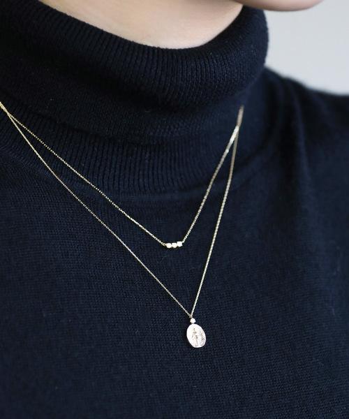 【格安saleスタート】 一粒ダイヤを添えたマリアのメダイネックレス, 中野区 d67df1ca
