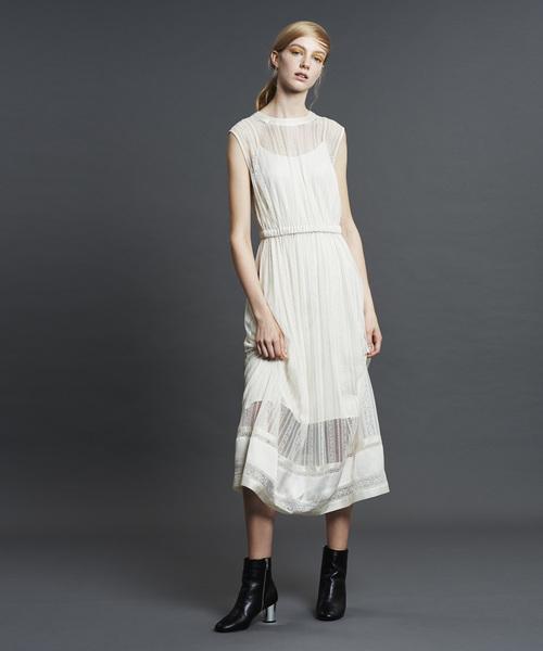 新発売 ナイロンストライプレースノースリワンピース(ドレス)|Jines(ジネス)のファッション通販, セイコー時計専門店 スリーエス:236266fb --- appropriate.getarkin.de