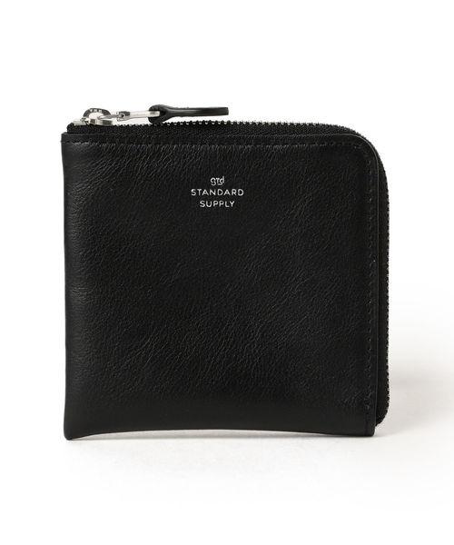 B:MING by BEAMS(ビーミングバイビームス)の「STANDARD SUPPLY / L型ジップ ウォレット(財布)」 ブラック