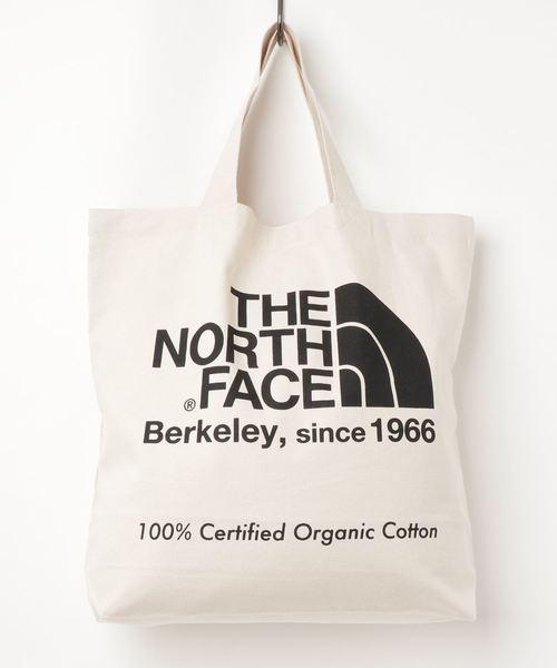 THE NORTH FACE(ザノースフェイス)の「THE NORTH FACETNF ORGANIC C TOTE NM81908(トートバッグ)」|ホワイト×ブラック
