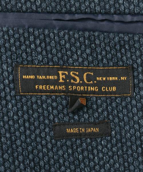 FSC JP INDIGO SASHIKO 2B SHACKET