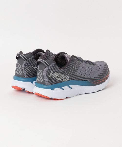 HOKA ONEONE CLIFTON 5 (Frost Gray/Ebony)