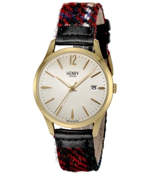 HENRY LONDON ヘンリーロンドン Harris Tweed Collaboration ハリスツイードコラボレーション 腕時計