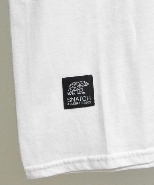SNATCH & CLASH WILD NATURE クルーネックプリントTシャツ