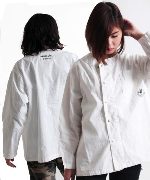 【WEB&DEPOT限定】リップストップコットン スリーピングシャツ/ L/S RIP STOP SLEEPING SHIRT