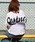 HER CLOSET(ハークローゼット)の「【HERCLOSET】バックプリントロゴTシャツ(Tシャツ/カットソー)」|ホワイト