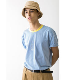 <FUTUR × monkay time> 01 RINGER TEE/Tシャツ