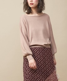 natural couture(ナチュラルクチュール)のバルーンスリーブニット(ニット/セーター)