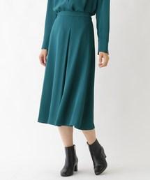 SOFUOL(ソフール)の【Marisol11月号掲載】ドレッシーサテンフレアスカート(スカート)