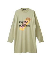 DESTROY ALL MONSTERS/PBMFワンピースカーキ