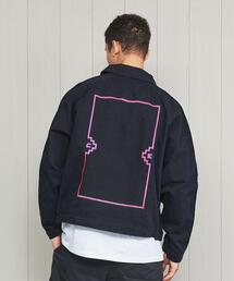<C.E>FRAME EMBROIDERY JACKET/ジャケット.