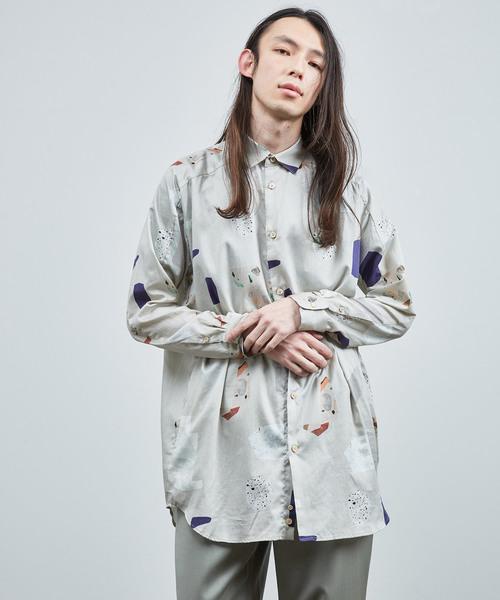 完売 2019春夏 ストーンパターン ヨークスリーブシャツ(シャツ/ブラウス)|Dulcamara(ドゥルカマラ)のファッション通販, ワールドクロス:d089a2d1 --- tsuburaya.azurewebsites.net