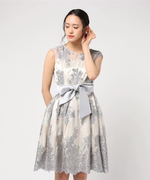 割引クーポン 【セール】《MintSouffle》幾何学模様刺繍レース使いフィット&フレアーワンピースドレス(ドレス) Luxe|Mint Souffle Doll/ (ミントスフレ)のファッション通販, 河内長野市:296ecdd3 --- hand.kfz-viole.de