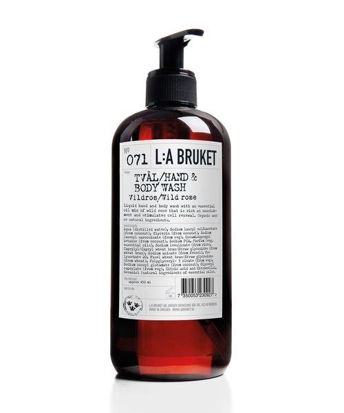 「L:A BRUKET/ラブルケット」 オーガニック ハンド&ボディウォッシュ 450ml■