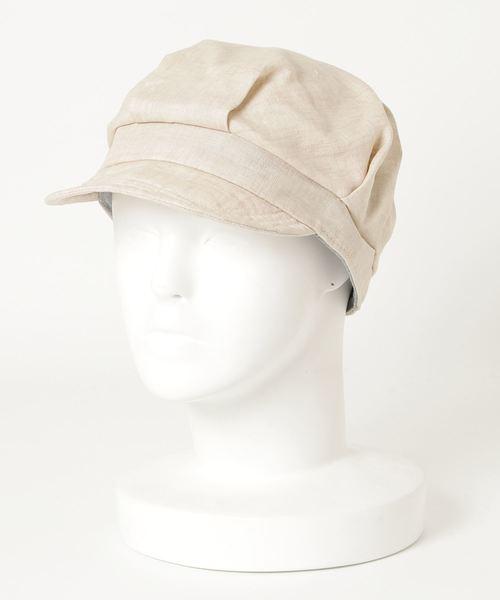 ▽ ST: フレンチリネン ワークキャップ French Linen WORK