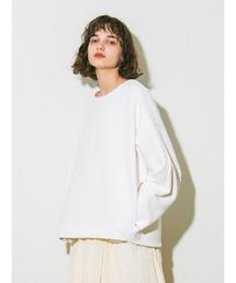 emmi(エミ)の【emmi atelier】ダンボールニットトップス(Tシャツ/カットソー)