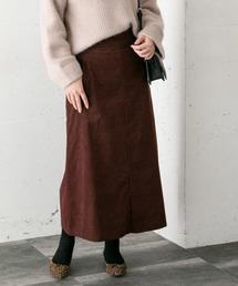 URBAN RESEARCH ROSSO WOMEN(アーバンリサーチ ロッソ)の起毛Aラインスカート(スカート)