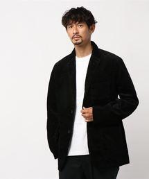 koe(コエ)の太畝コーデュロイ2Bジャケット(ブルゾン)
