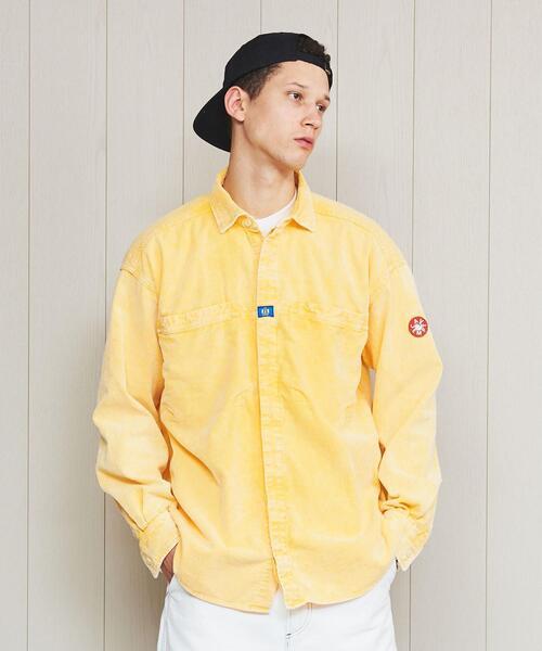 <C.E>CORD DESIGN BIG SHIRT/シャツ.
