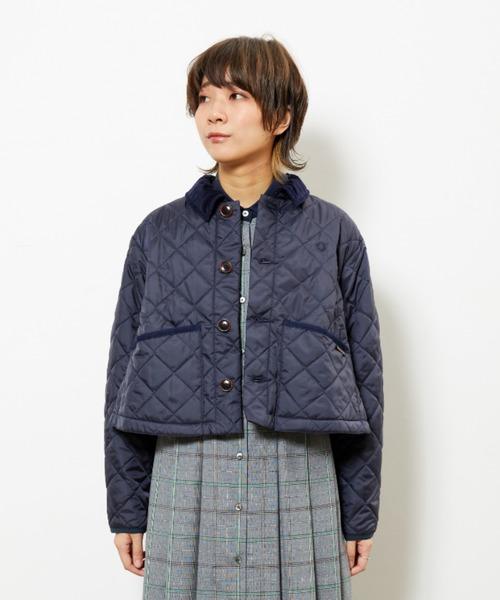【新作からSALEアイテム等お得な商品満載】 Lavenham Quilted Jacket, 青空そら豆 eca42c43