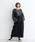 merlot(メルロー)の「コーデュロイ配色ステッチワークサロペットスカート3270(サロペット/オーバーオール)」|ブラック