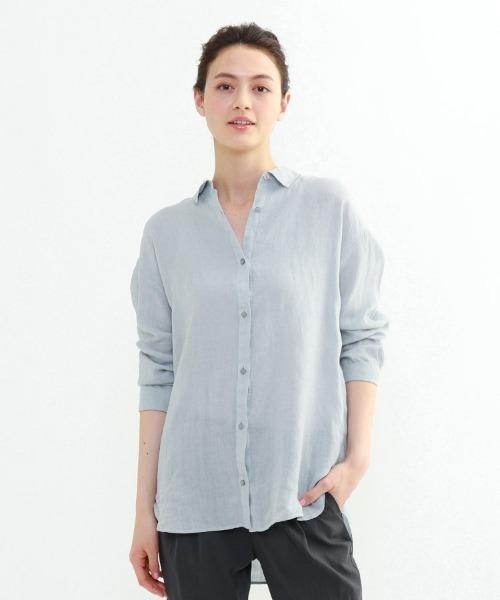 ラミーボイルチュニックシャツ
