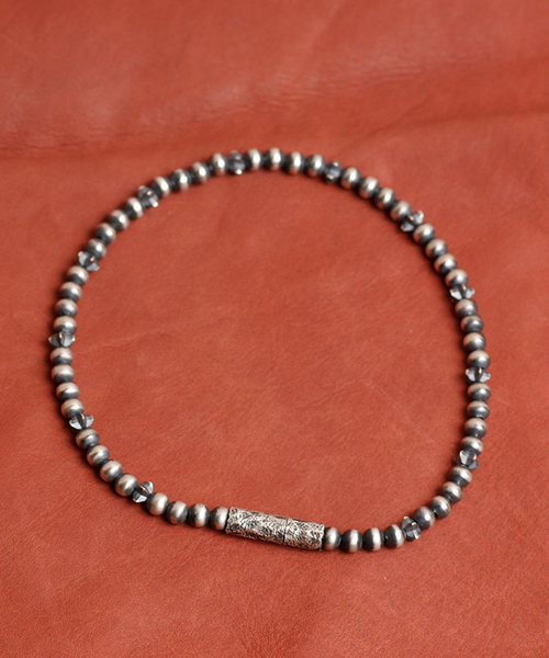 GILD / ギルド / Star beads anklet スター ビーズ アンクレット / G162-AN03