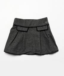 6baf039b125cd LILI GAUFRETTE(リリーゴーフレット)の「Lili Gaufrette リリーゴーフレット 裾フリンジスカート