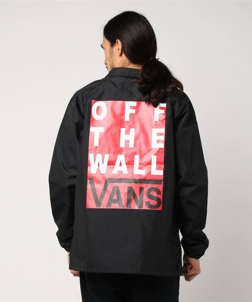 VANS ヴァンズ AP SEAL COACHES JACKET VN0A3DC6BLK BLACK