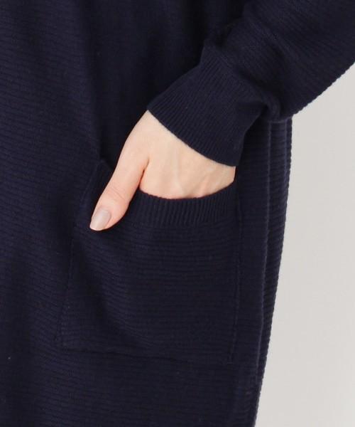 【洗濯機OK/静電防止】ニットカーディガン