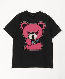 HELLO BEAR pt Tシャツ【L】ブラック