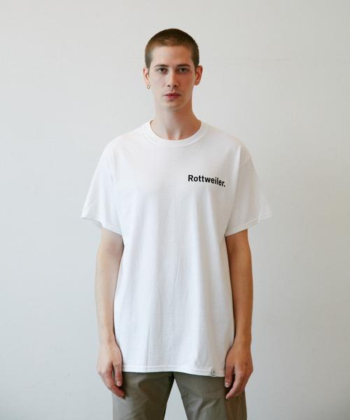 ROTTWEILER(ロットワイラー)の「Small R・W Tee(Tシャツ/カットソー)」|ホワイト