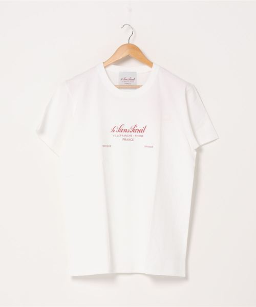 ∴【 Le SansPareil / ルサンパレイユ 】7oz LSP LOGO PRINT TEE 7オンス プリントロゴ Tシャツ homme(メンズ)