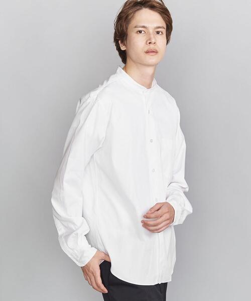 BY 70/2 ブロード バンドカラー シャツ