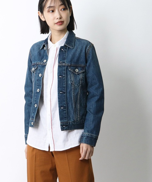 【 GRANDMA MAMA DAUGHTER / グランマ ママ ドーター 】# DENIM JACKET VINTAGE WASH GJ53091V1・・