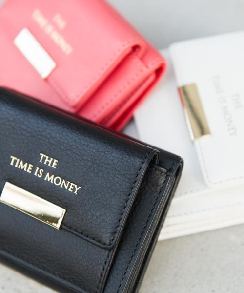 online retailer 493d9 57c77 MIXXDAVID / the time is money 小財布