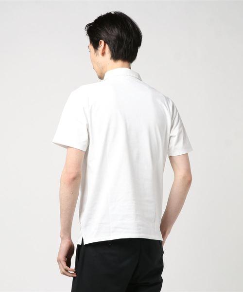 セオアルファ 鹿の子ポロシャツ