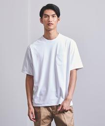 <HAND ROOM (ハンドルーム)> クルーネック ポケットTシャツ