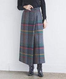 GALLARDAGALANTE(ガリャルダガランテ)のチェックラップスカート(スカート)