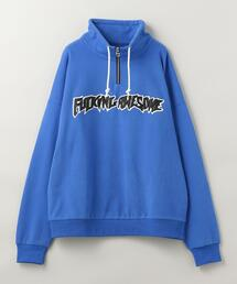 FUCKING AWESOME(ファッキング オーサム)1/4 ZIP SWEATSHIRT