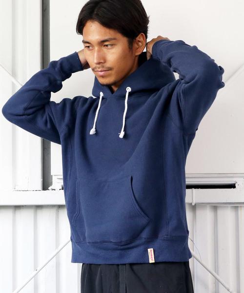 ◆35th ANNIVERSARYモデル◆【Goodwear/グッドウェア】-THE BAREFOOT限定- プルオーバーフーディ スウェット made in usa