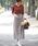 &. NOSTALGIA(アンドドットノスタルジア)の「千鳥チェックスリット入りロングスカート(スカート)」|詳細画像