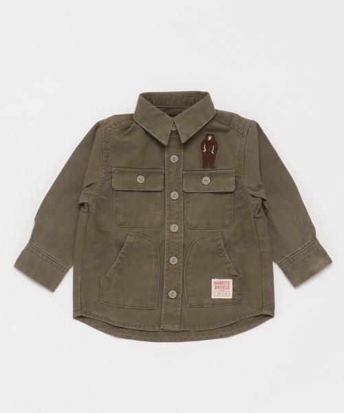 アーミーサージミリタリーシャツ(80~130cm)