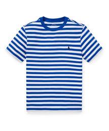 de9bf9d05d96f5 POLO RALPH LAUREN(ポロラルフローレン)の「ストライプド コットン ジャージー Tシャツ