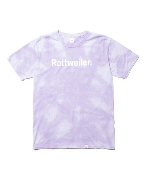 ROTTWEILER(ロットワイラー)の「Dyed R・W Tee(Tシャツ/カットソー)」|パープル