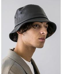 <moneky time> FAKE LTR BUCKET HAT/バケットハット