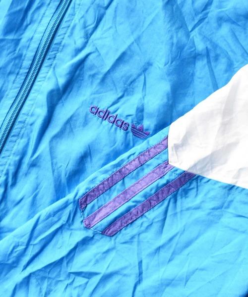 adidas(アディダス)の「【ヴィンテージ古着】adidas/アディダス フルジップ ナイロンジャケット(ナイロンジャケット)」|詳細画像