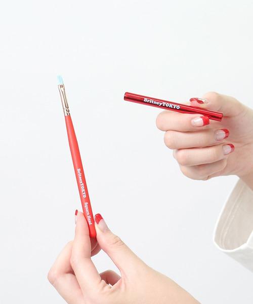 CON'CELECT x Britney TOKYO ネイルブラシ SQUARE HEAD //GSI SP nail brush