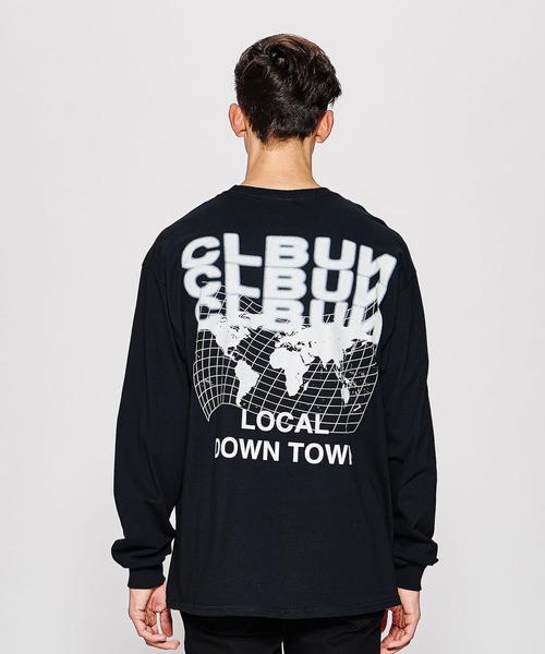 <CLBUN> WORLD END L/S TEE/Tシャツ